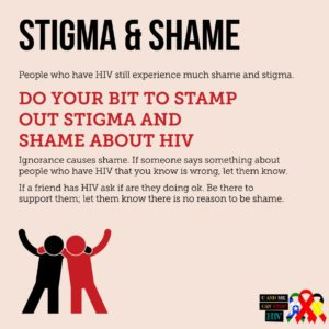HIV stigma and shame infog atsihaw