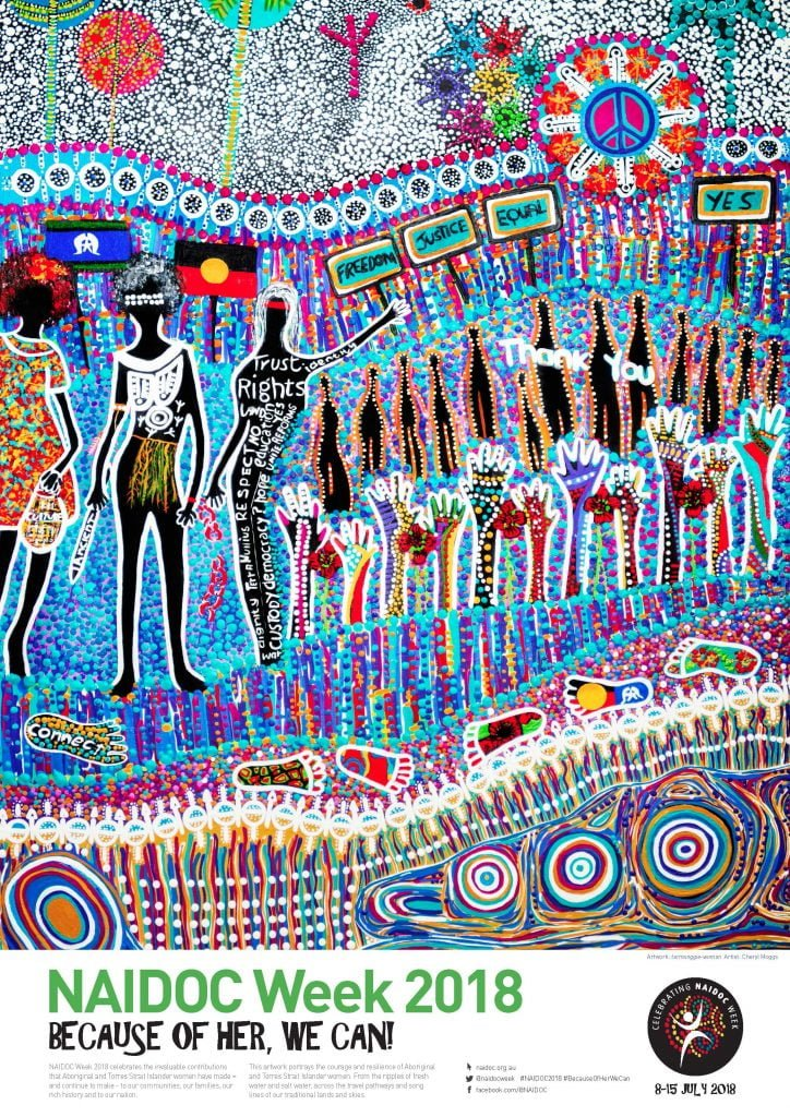 naidoc week 2018 � because of her we can atsihiv